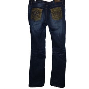 COOGI Distressed Medium Wash Relaxed Jeans (15/16)